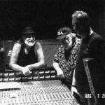 Hank and Willie in the studio