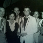 Ray Price, Hazel Houser, Jess Willard, Johnny Cash, Bill Carter (fotos), Hank Cochran