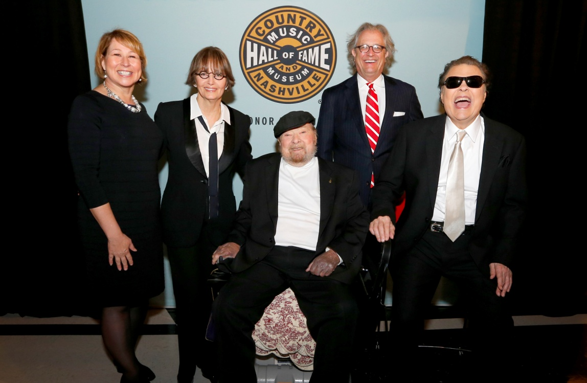 HANK COCHRAN, RONNIE MILSAP, AND MAC WISEMAN INDUCTED INTO COUNTRY MUSIC HALL OF FAME